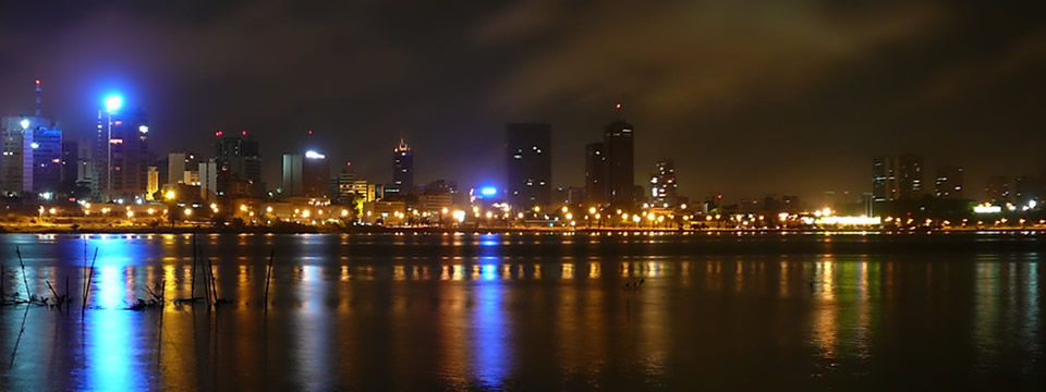Abidjan by nigth